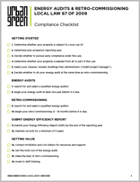 Local Law 87 Checklist