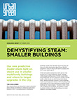 Cover of Smaller Buildings policy brief