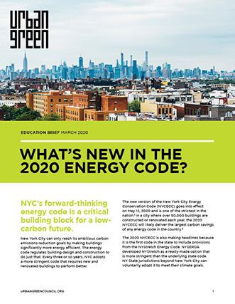 Energy Code Brief