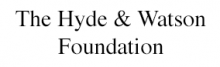 Hyde and Watson Foundation