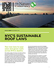 Cover of Sustainable Roof Laws Policy Brief